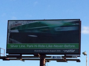 Park N Ride Billboard