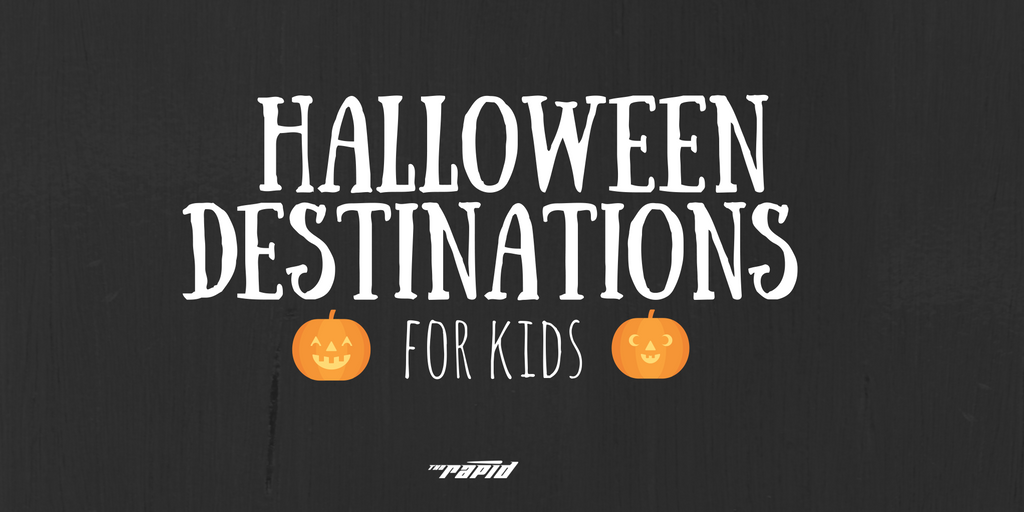 Halloween Destinations Ride The Rapid