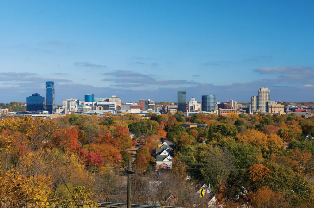 Grand Rapids in fall