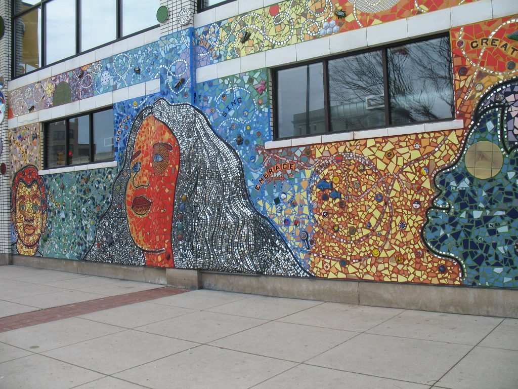 Grand Rapids Children's Museum Mosaic