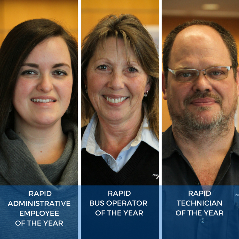 Employees of the year 2016