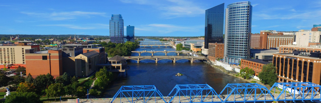 Blue bridge grand rapids