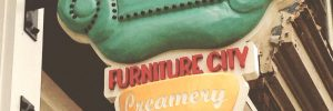 Furniture City Creamery Sign