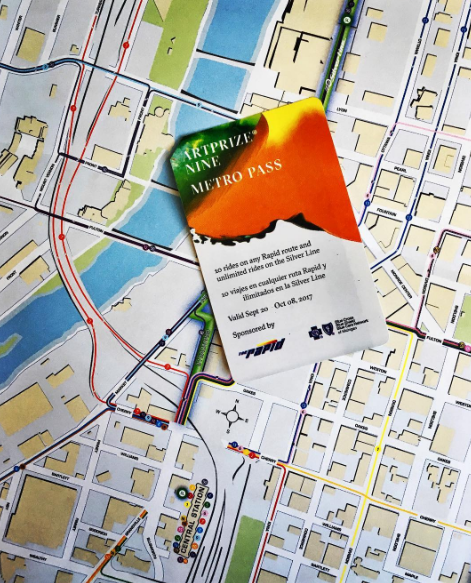 ArtPrize Nine Metro Pass