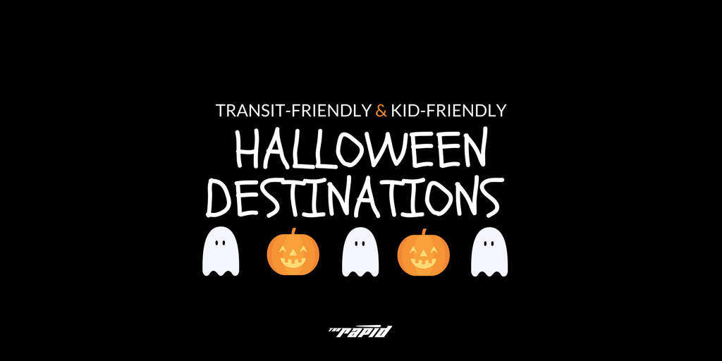 kid-friendly and transit-friendly halloween destiantions