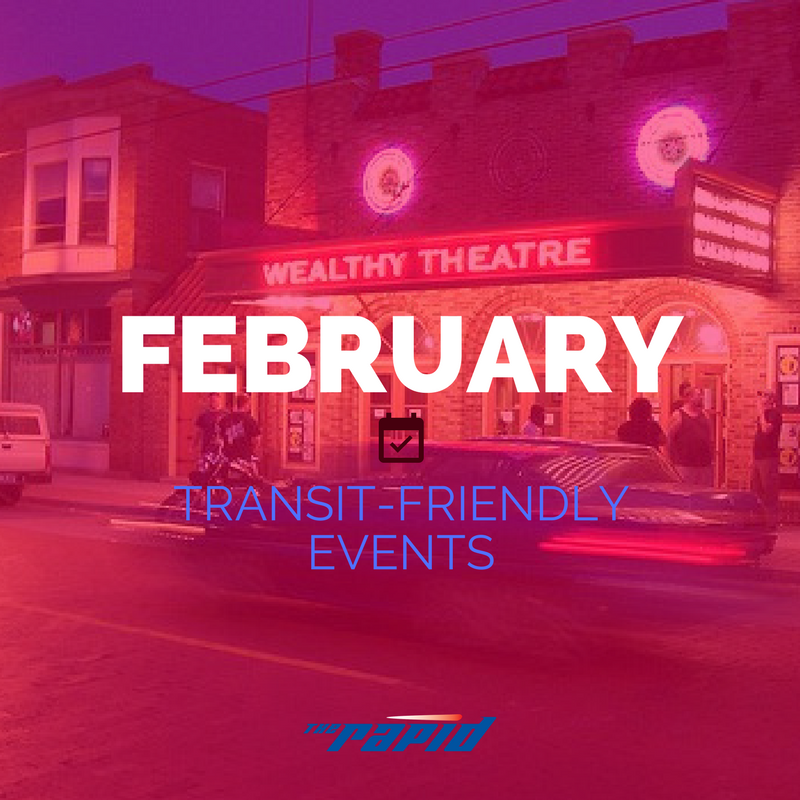 February Transit Friendly Events