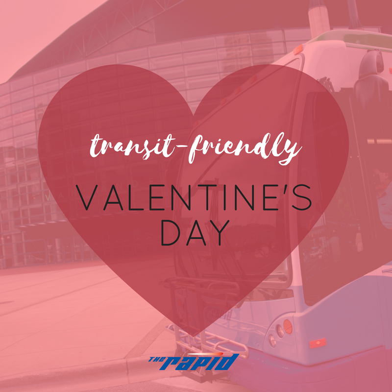 Transit-Friendly Valentine's Day
