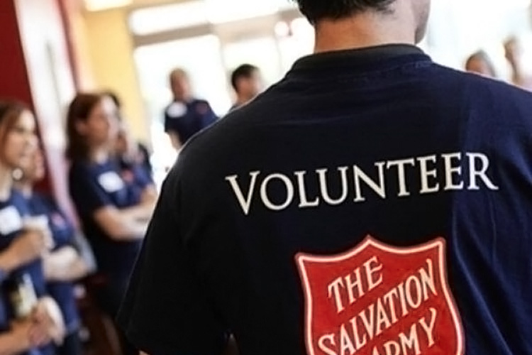 Volunteer at Salvation Army
