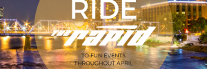 Ride The Rapid in April 2018