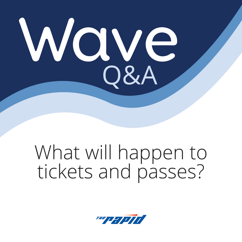 What will happen to tickets and passes?