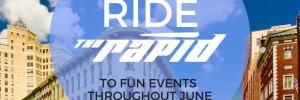 Ride The Rapid to events in June