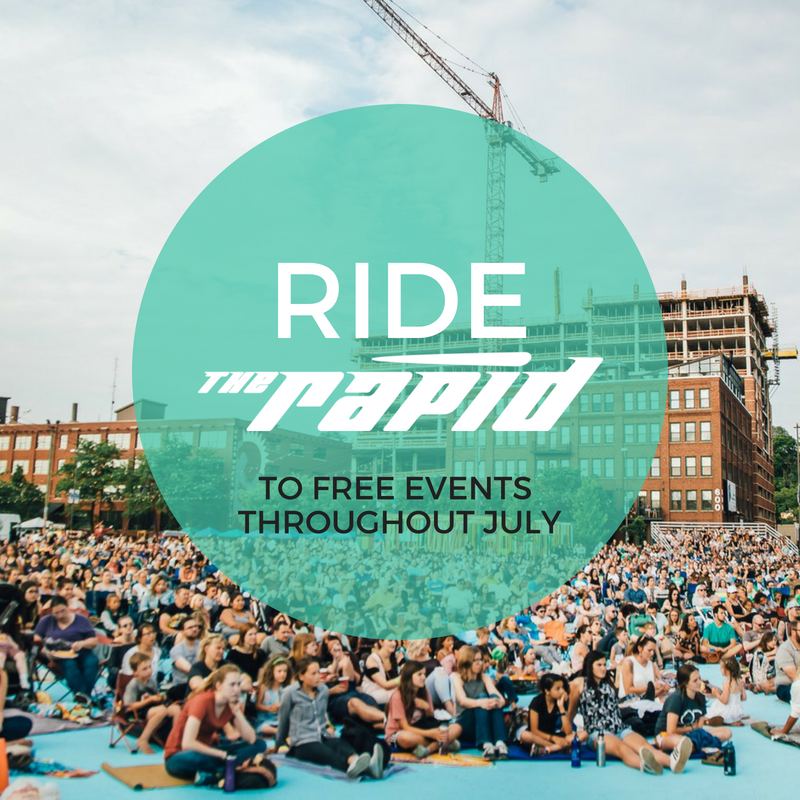July Transit-Friendly events