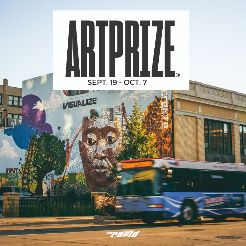 Riding The Rapid to ArtPrize 10