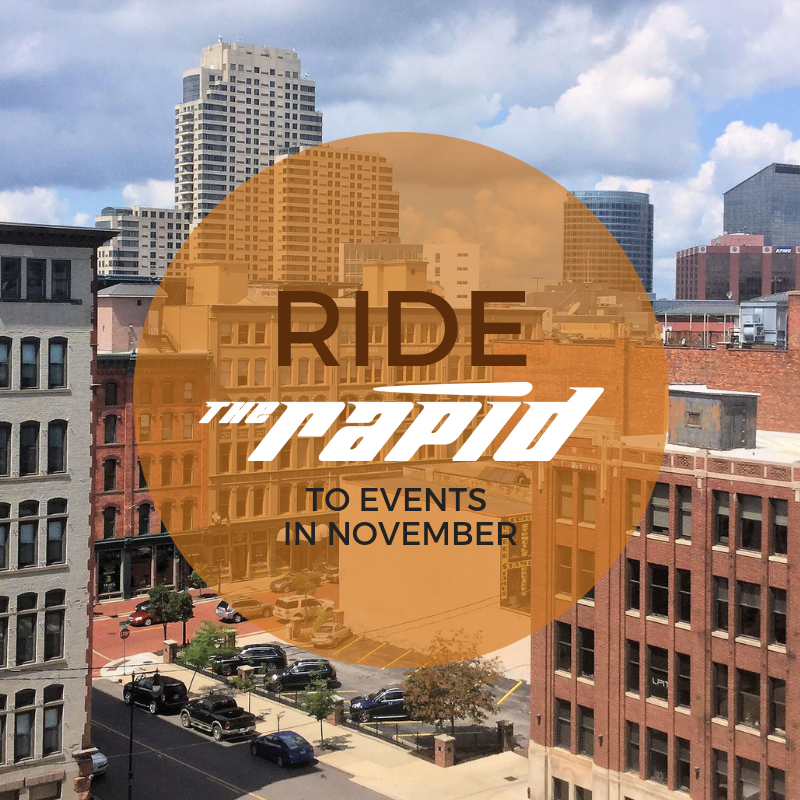 Ride The Rapid November Events
