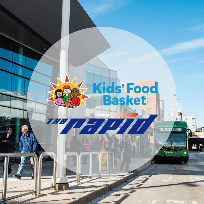The Rapid teams up with Kids' Food Basket