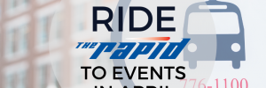 April 2019 Event Guide for The Rapid